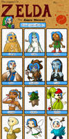 Zelda Race Meme