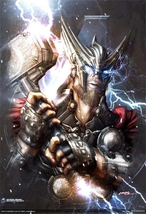 artwork gods lightning marvel - photo #10