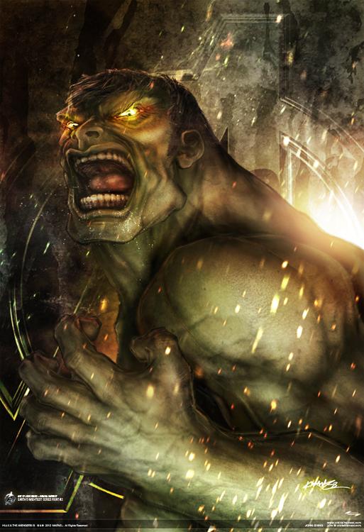 avengers hulk by johngiang