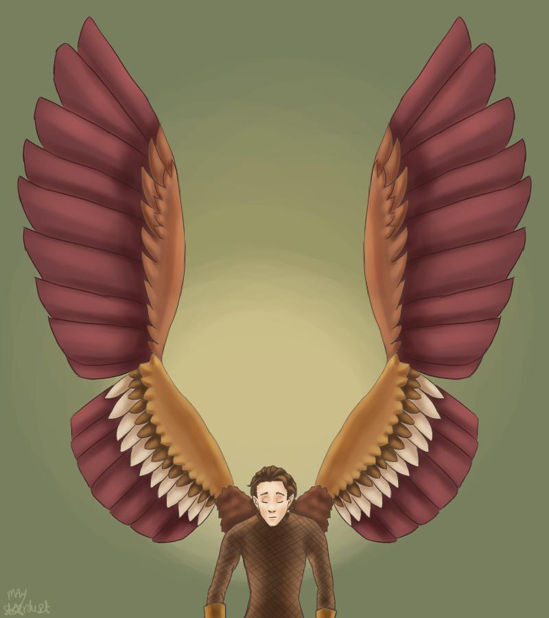 Joost wing!au by MayStardust