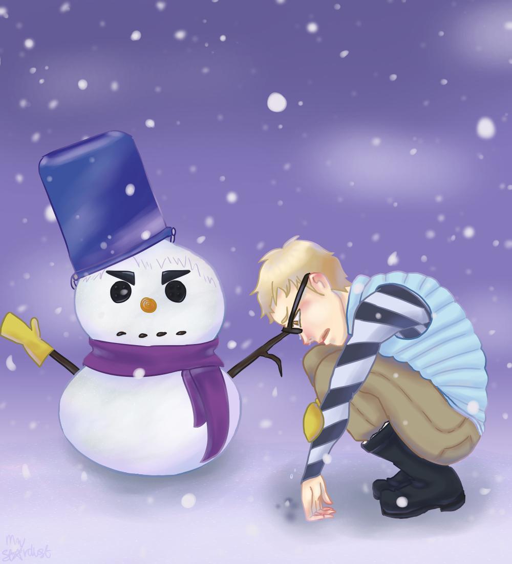 Snowman by MayStardust