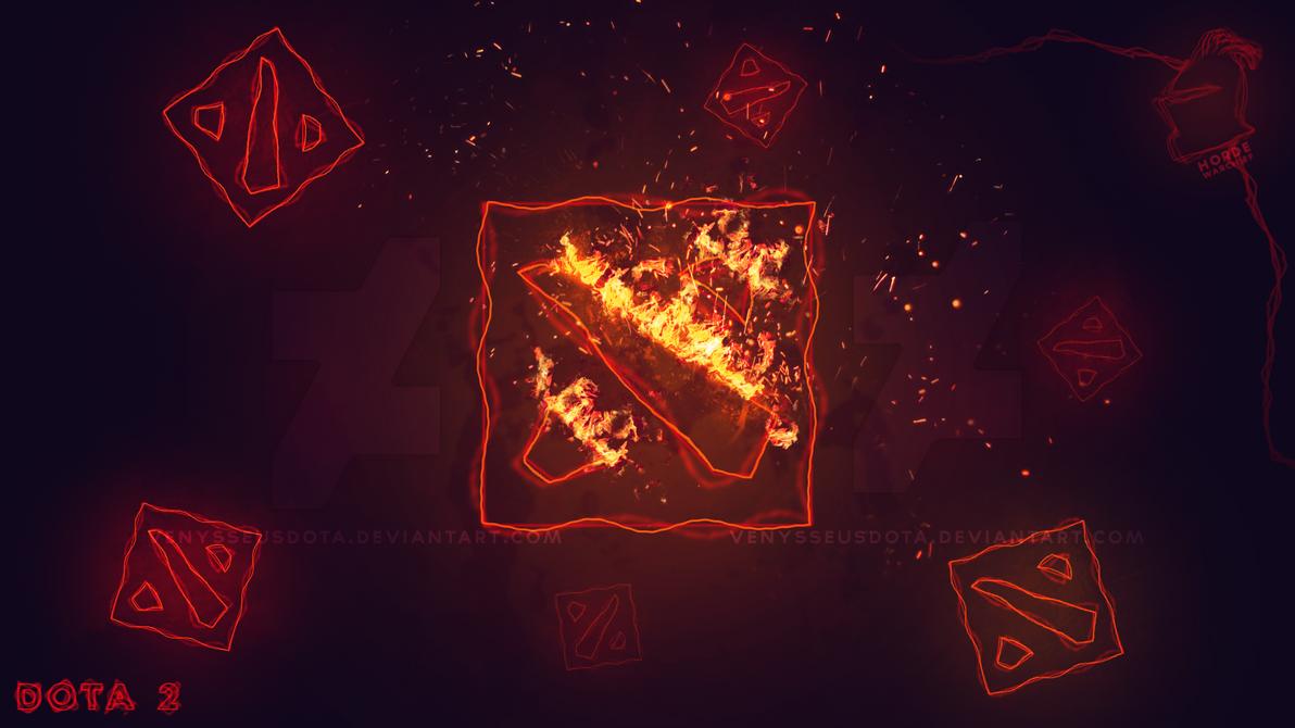Dota 2 Fiery Wallpaper Prev by iGotRekt