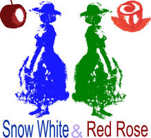 Snow White and Rose Red by Katchiannya