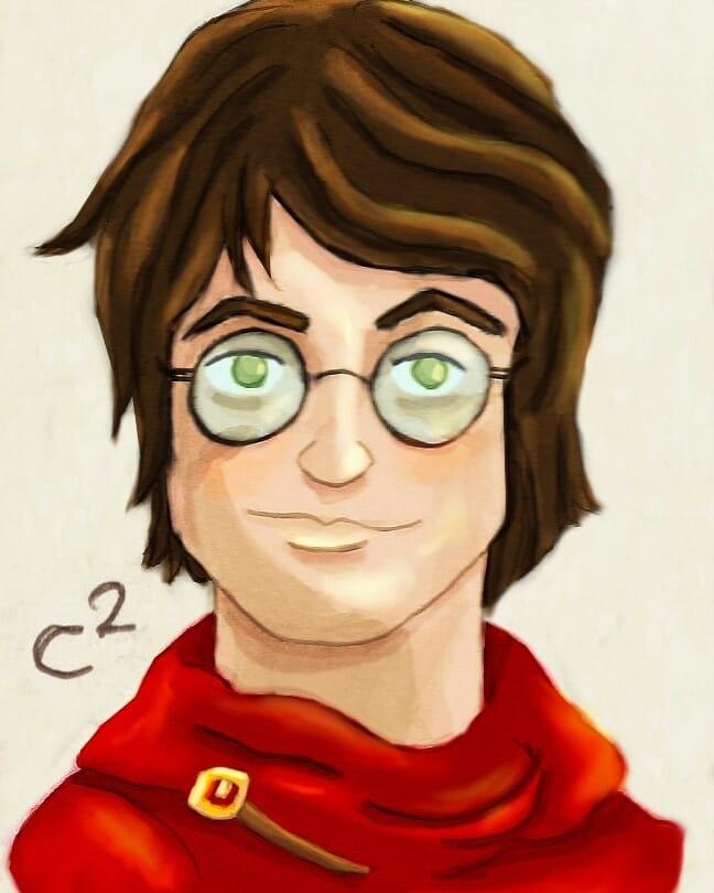Harry Potter by Katchiannya