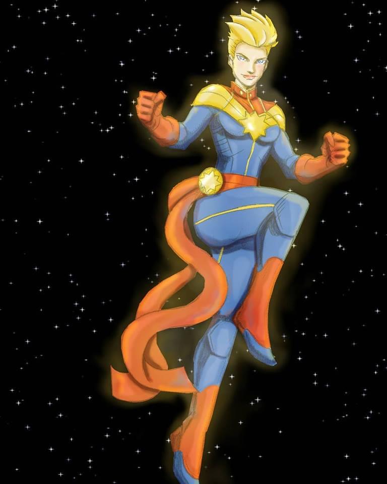 Captain Marvel by Katchiannya