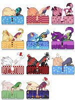 Bed Icons by Kureiya