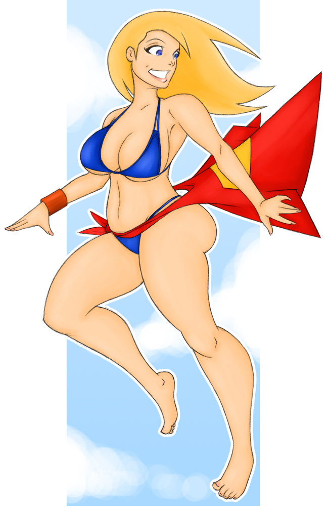 super girl - bikini by samuraiblack