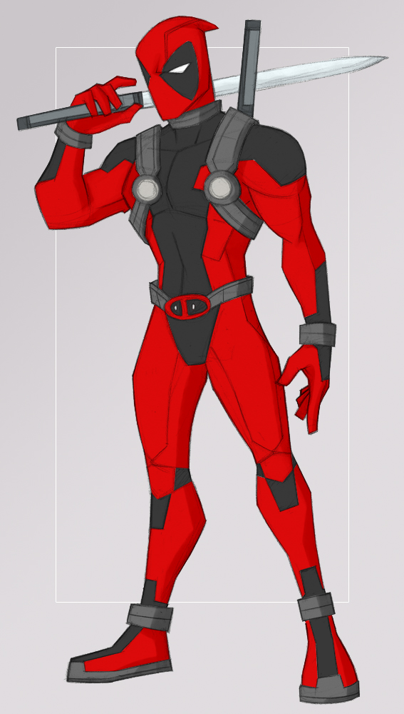 deadpool by samuraiblack