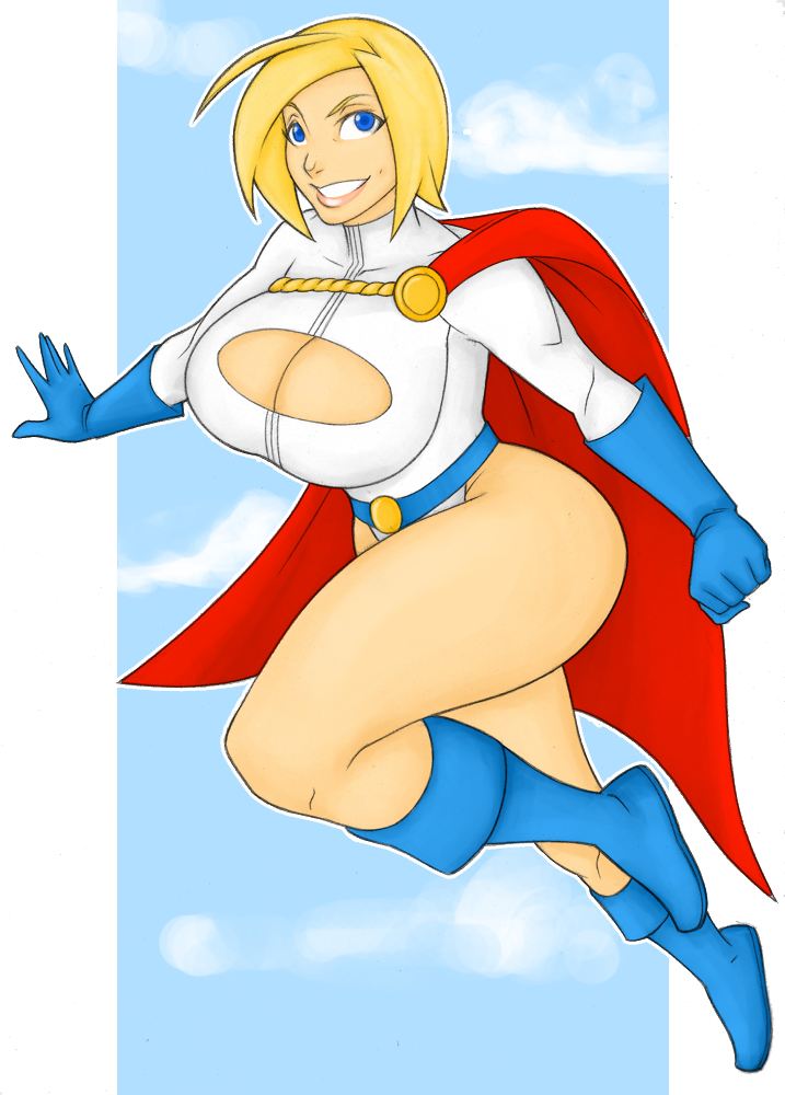 power girl classic by samuraiblack