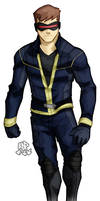 scott summers by samuraiblack