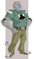atomic robo by samuraiblack