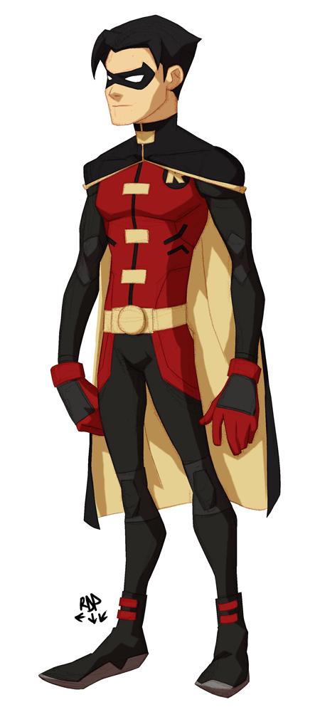 Red Shoes Superhero Asian Mentor Cartoon Milk Bar