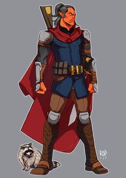 hobgoblin fighter - commission