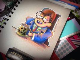 Boss Mabel by GirlGregg