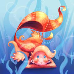 Glittering Goldfish