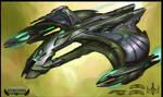 Star Trek Online D'deridex Concept Art