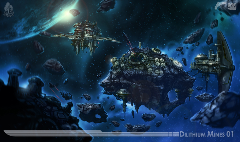 Star Trek Online Dilithium Mine Concept Art By Fbombheart On Deviantart