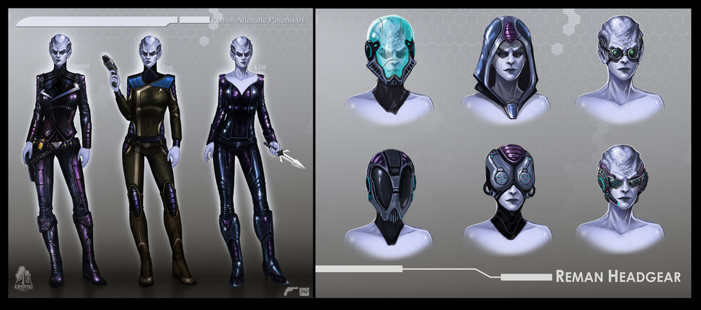 Star Trek Online Reman Concept Art By Fbombheart On Deviantart