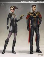 Star Trek Online Romulan Formal Concept Art by FBOMBheart