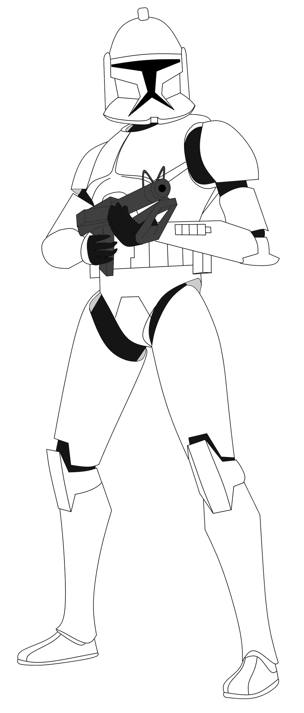 Phase 2 Clone Trooper Coloring