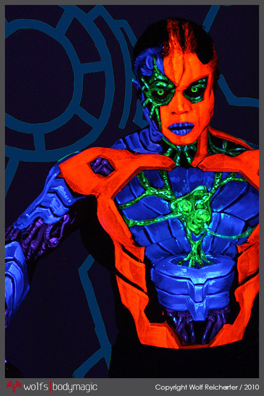 Inner Workings 01 - 3D Chromadepth by WolfsBodymagic