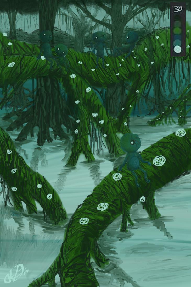 A Swampy plane2 by yoKenny6