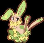 Dyst Bunny #007 by fluffiamasterlist