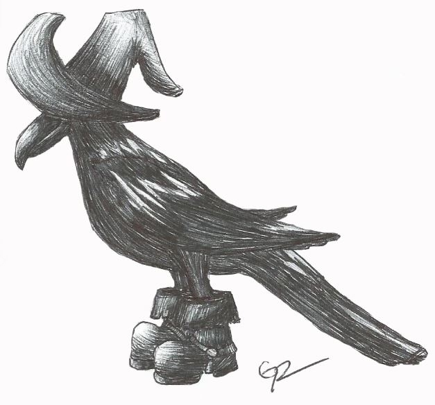 Crow by stormthief19