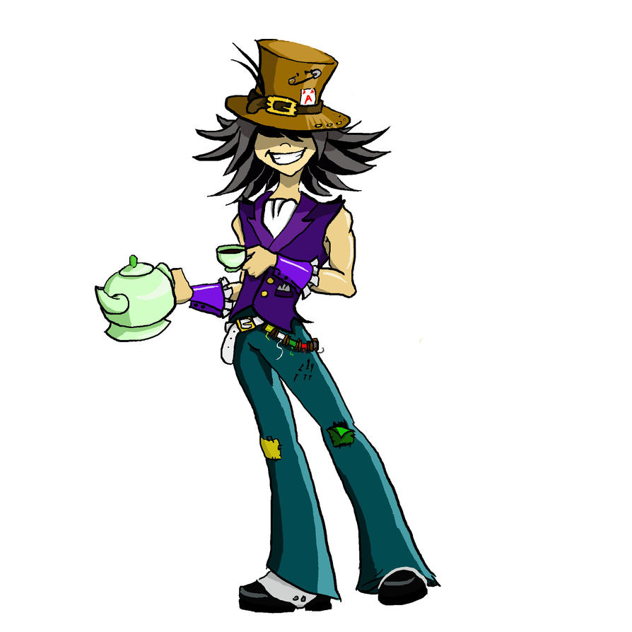 Mad Hatter by stormthief19