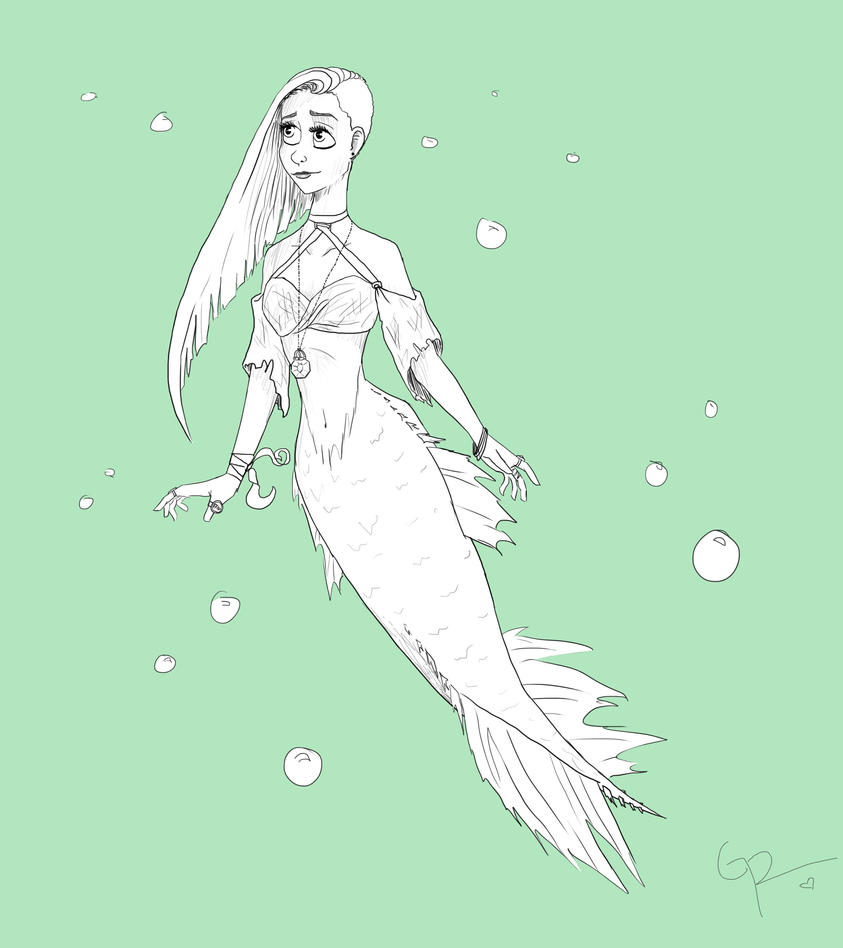 Mermaid  by stormthief19