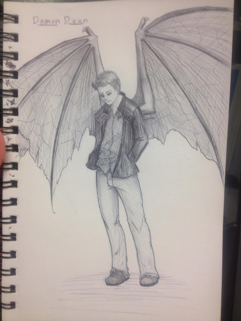 Demon Dean by stormthief19