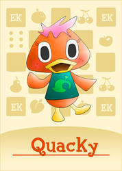 Quacky // Animal Crossing OC