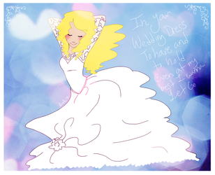 In Your Wedding Dress by timbermoonkiss