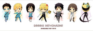 Keychains - DRRR by Aka-Shiro