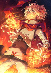 Flame by Aka-Shiro