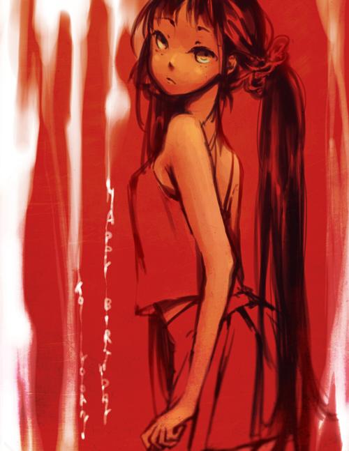 HBD yooani by Aka-Shiro