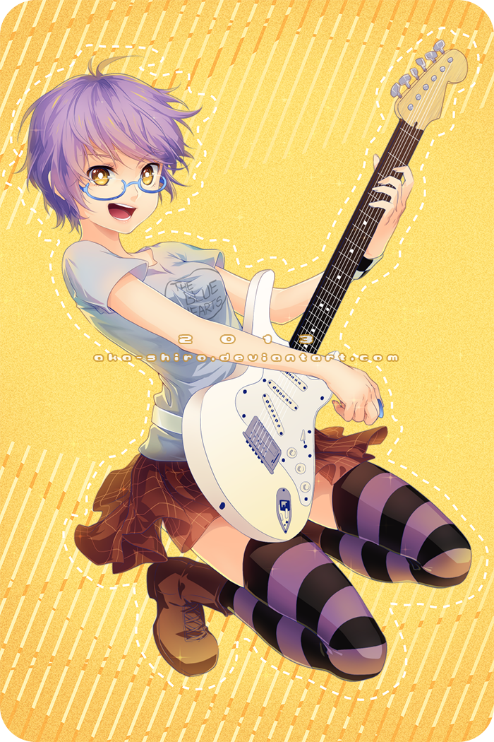 Guitar! by Aka-Shiro