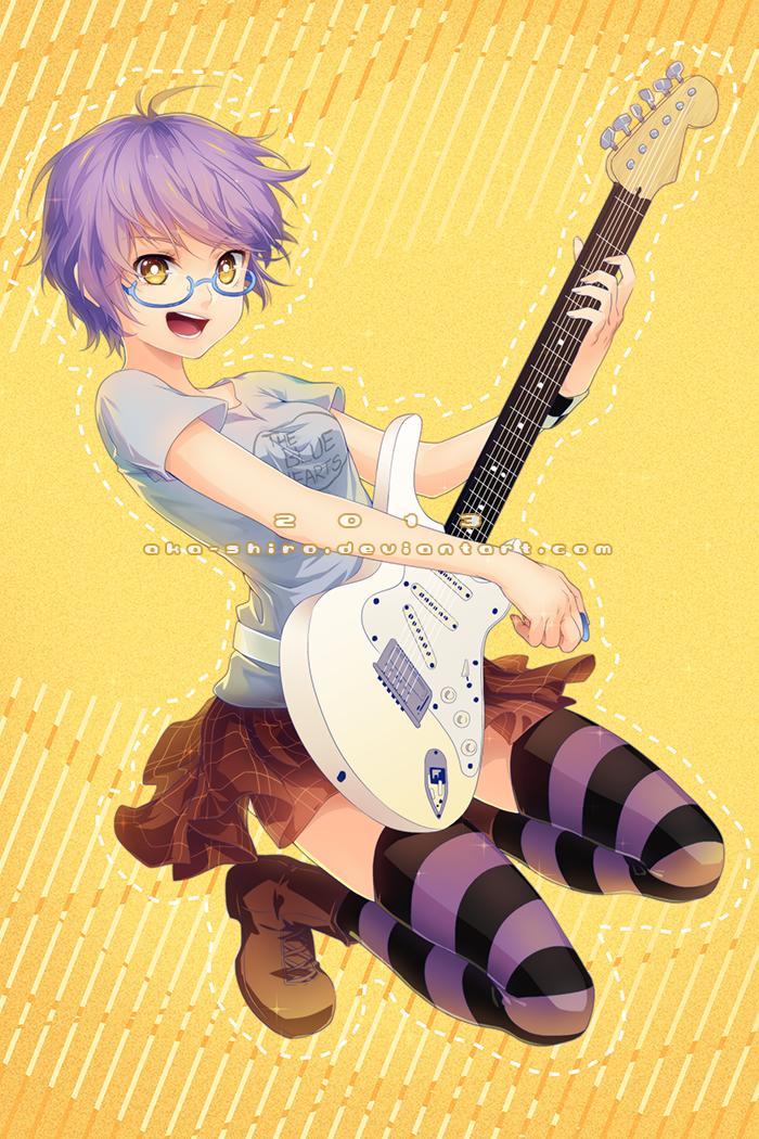 Guitar! by Aka-Shiro