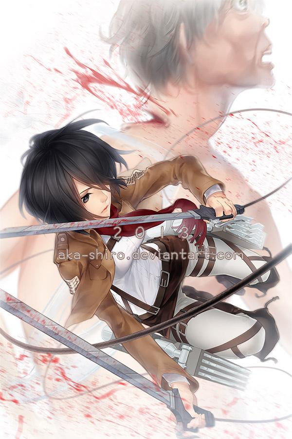 Mikasa by Aka-Shiro