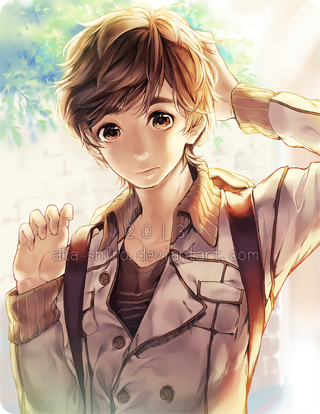 The gallery for --> Anime Boy With Brown Hair And Gold Eyes Anime Boy With Brown Hair And Brown Eyes
