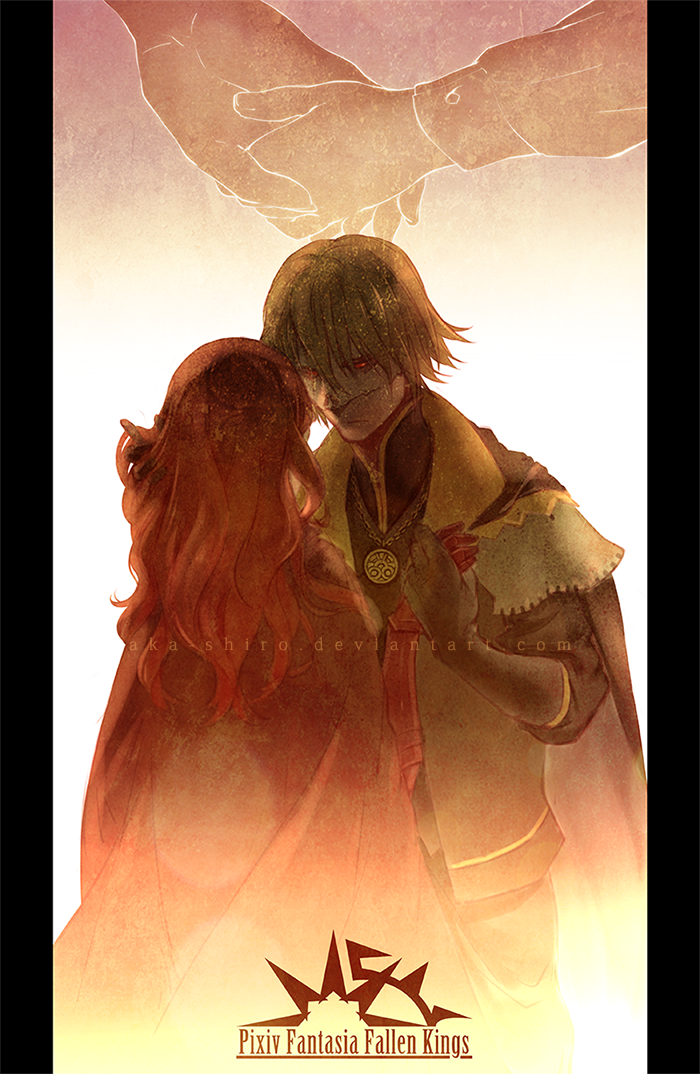 PFFK - King and Knight by Aka-Shiro