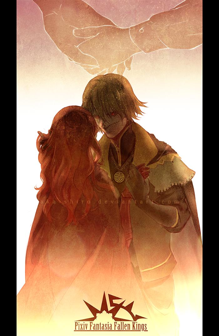 PFFK - King and Knight by Aka-Shiro