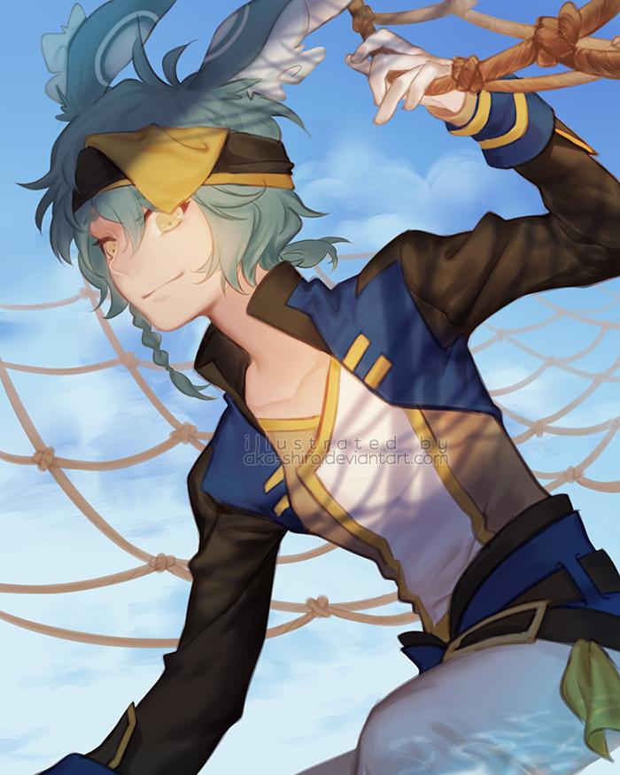 Set sail! by Aka-Shiro