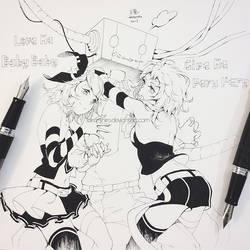 Inktober #6: LUVORATORRRRRY! by Aka-Shiro
