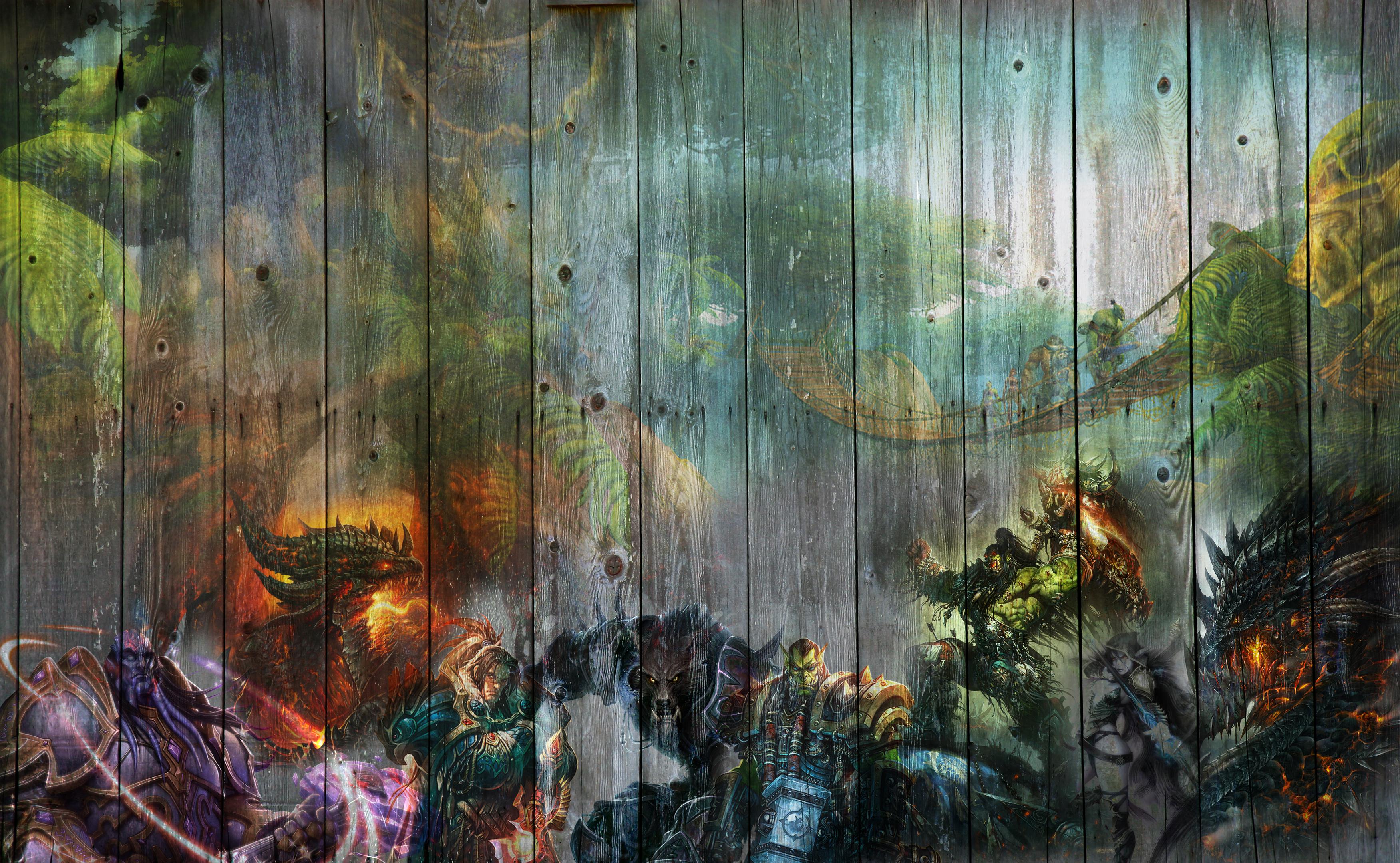 World Of Warcraft Wallpaper By Arixev On Deviantart