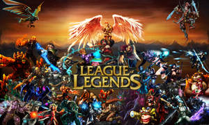 League of Legends Wallpaper by Arixev