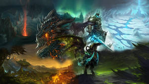 Warcraft Characters Wallpaper by Arixev