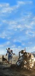 Fallout Mobile Wallpaper (2436x1125)