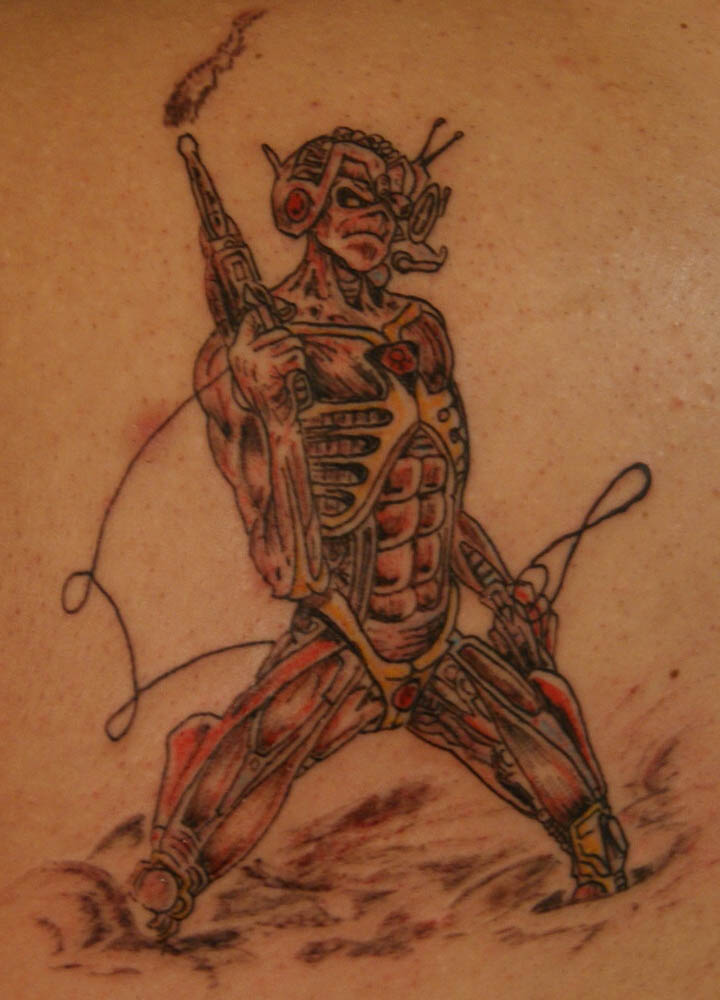 1000+ images about Eddie Tattoos on Pinterest | Iron ...  |Iron Maiden Somewhere In Time Tattoo