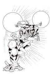 Super Crazy Animal Hand CCP Comics by Gary-ODD-Edmund